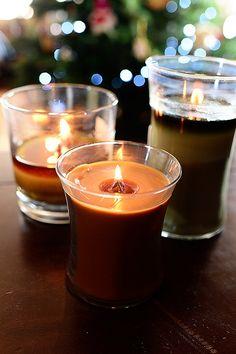 Le plaisir de la mèche qui crépite des bougies parfumées Woodwick!