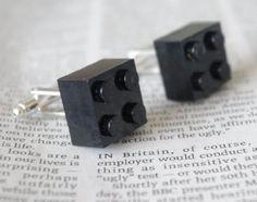 Boutons De Manchette Bijou Lego Style Kitsch Emo Punk Idée Cadeau Inhabituelle