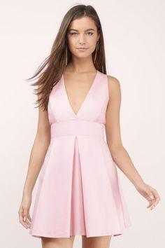 Date Night Pleated Dress at Tobi.com #shoptobi