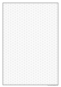 6 Best Images of Printable Paper Drawing - Printable Isometric Graph Paper, Isometric Paper Template and Printable Centimeter Grid Paper Isometric Sketch, Isometric Paper, Isometric Grid, Isometric Design, Graph Paper Drawings, Graph Paper Art, 3d Drawings, Grid Paper Printable, Free Printable
