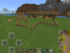 Great Open Minecraft Barn Idea To Keep Your Pigs Sheep Cows And