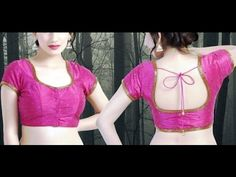 How To Cut A blouse:Priencess Cut Choli Cutting Method Step By Step 2015