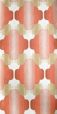 Vintage wallpaper, this pattern is very appealing to me.