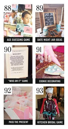 150 Bridal Shower Ideas
