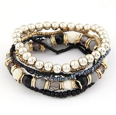 Bohemian Multilayer Beads Bracelets - $20.00