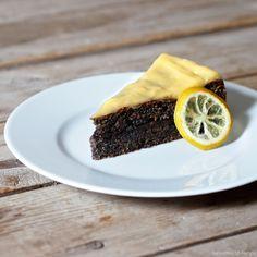 Laskominy od Maryny: Makový dort s lemon curd A Food, Food And Drink, Lemon Curd, Healthy Recipes, Healthy Food, Pudding, Pie, Baking, Sweet