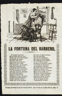 La fortuna del barbero.