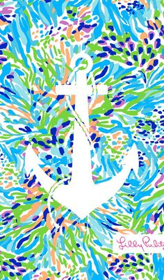 Anchor + Lilly Pulitzer = Perfection @Lilly Pulitzer