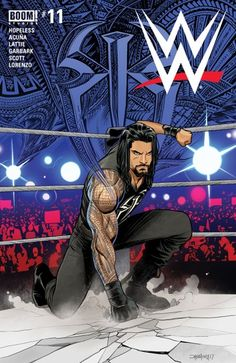 """Read """"WWE by Dennis Hopeless available from Rakuten Kobo. Roman Reigns battles the Wyatt Family and only one is left standing - but what do Dean Ambrose and Seth Rollins have to . Wwe Roman Reigns, Roman Reigns Logo, Roman Reigns Wrestling, Roman Reigns Wwe Champion, Wwe Superstar Roman Reigns, Wrestling Posters, Wrestling Wwe, Roman Reigns Drawing, Lucha Libre"""