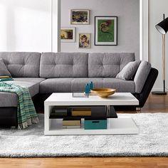 """Nur noch bis zum 25.10.16 satte 20% Rabatt im Knaller-Shop auf neckermann.de auf ausgewählte Artikel sichern. Wie z.B. unser Ecksofa in Grau! Happy Shopping""""  #neckermannde #möbel #ecksofa #sofa #couch #interior #einrichtungsideen #interior #furniture #bigsofa #design"""