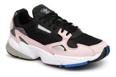 save off f3386 1b344 Adidas Originals Falcon W Baskets Basses NoiessNoiessRosleg - Baskets  Femme Sarenza