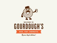 Great donut logo. Give me a logo with a donut, even if it's clip art, and it's an automatic WIN.