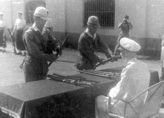 Japanese Surrender in Sai Gon 1945 - Lrull Collection
