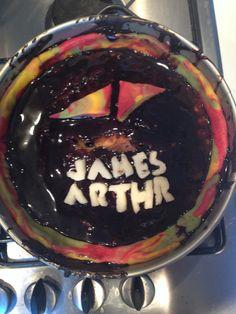 Avicii and james arthur cake