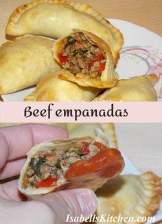 Beef empanadas recipe - isabell's kitchen