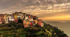 Corniglia is a small fishing village in the Cinque Terre region of Northern Italy.