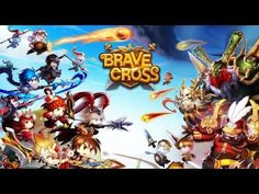 BRAVE CROSS - iOS / Android Gameplay Trailer