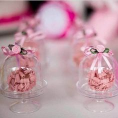 Birthday Decoration Mother's Day Shabby Chic Pink Straws for Birthday Party Birthday Ornament Set of Six for Tea Party. Wedding Favors, Party Favors, Wedding Gifts, Cupcake Favors, Mini Cupula, Bridal Shower, Baby Shower, Ballerina Party, Ideas Para Fiestas