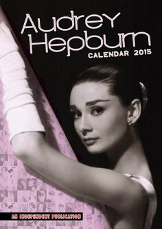 Audrey Hepburn Calendar - 2015 Calendars - Poster Calendars - Celebrity Wall Calendars by MegaCalendars