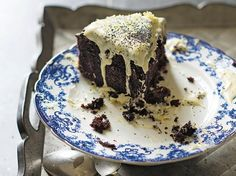 Guinness and Chocolate Cake Recipe - Beer gives this chocolate cake a rich flavour