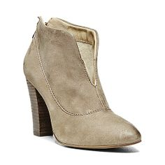 PHYLLIS TAUPE SUEDE women's bootie high casual - Steve Madden