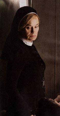 Jessica Lange as Sister Jude (Judy Martin) in AHS: Asylum **