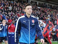 February 07, 2016,. Bournemouth v Arsenal - Premier League.#MesutOzil