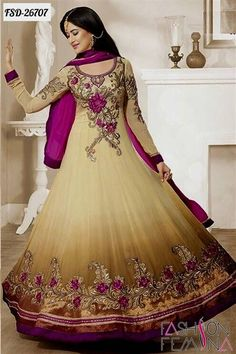 Nice anarkali dresses designs new collection with price 2017-2018 Check more at http://newclotheshop.com/dresses-review/anarkali-dresses-designs-new-collection-with-price-2017-2018/