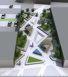 PROJETO PARQUE URBANO - conceito de paisagem Architects Londres
