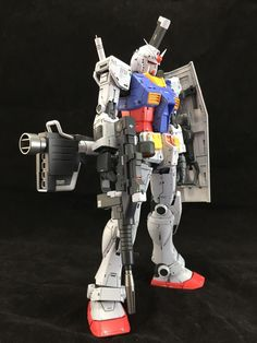 Custom Build: MG 1/100 RX-78-02 Gundam THE ORIGIN ver. - Gundam Kits Collection News and Reviews