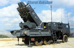 The first official photograph of an IAF Operated SPYDER SAM missile launch vehicle. The SPYDER (Surface-to-air PYthon and DERby) is an Israeli short and medium range mobile air defence system developed by Rafael Advanced Defense Systems with assistance from Israel Aerospace Industries (IAI)