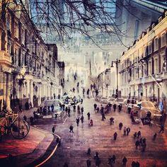 Nova York + Londres = A mesma cidade  By Daniella Zalcman.