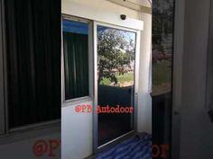 ประตูออโต้สำหรับบานเดี่ยว PB Autodoor