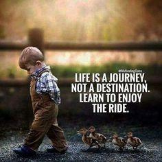 intenta ..disfrutar el camino ..