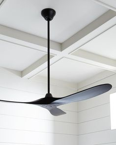 Monte Carlo Maverick 60 Modern Ceiling Fan In Matte Black - Ceiling Decorations Ceiling Fan In Kitchen, 60 Ceiling Fan, Living Room Ceiling Fan, Black Ceiling Fan, Ceiling Fans With Lights, Kitchen Ceiling Design, Fan Lights, Large Ceiling Fans, Patio Ceiling Ideas