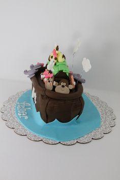 Noah's Arc Cake