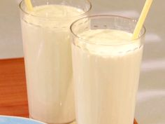 Roasted Pineapple Milkshake Recipe : Bobby Flay : Food Network - FoodNetwork.com