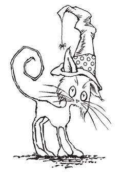 Stampendous - Cling Mounted Rubber Stamp - Scraggly Cat