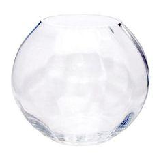 Optic Fishbowl Vase   Dunelm