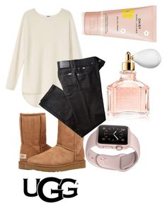 """""""The Icon Perfected: UGG Classic II Contest Entry"""" by katniss384 ❤ liked on Polyvore featuring UGG Australia, BRAX, Guerlain, Marc Jacobs, ugg and contestentry"""