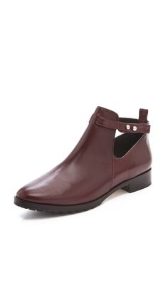 Elizabeth and James Pine Cutout Booties