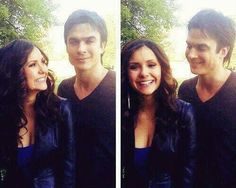 TAKE ME BACK TO THE START! THE WAY THEY USED TO LOOK AT EACH OTHER..  #TVD #Nian