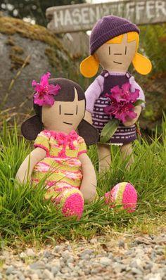 Hasenpfeffer Inc - modern cloth dolls