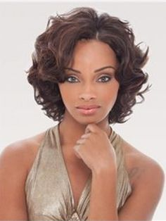 Beautiful Fluffy Short Curly Lace Front Wig 100% Human Hair about 12 Inches Item # W5623  Original Price: $859.00 Latest Price: $177.99