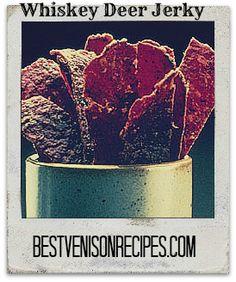 Whiskey Deer Jerky Recipe on http://bestvenisonrecipes.com
