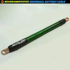 SEVEN SINS CHOPPERS 4 GAUGE CABLE! These new original cables are for battery starters solenoid or any application that can utilize a 4 gauge cable. #battery #batterycable #4gauge #4gaugewire #4gaugecable #harley #harleydavidson #sportster #chopper #hotrod #metalflake #60s #70s #mustang #stingray #corvette #ford #pickup #hotrod #sparkle #sevensinschoppers #power #powercable #ratfink #wire #showbike #carshow #sema