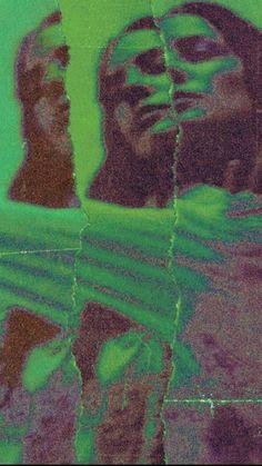 green aesthetic | Psychedelic art, Art collage wall, Aesthetic art