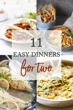 Easy Dinner Recipes for Two