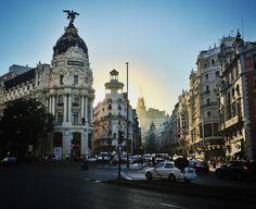 Gran Via à Madrid. © Copyright Yves Philippe