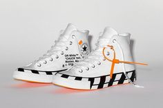 Details about Converse All Star Hi Black/White High Chuck Taylor 70 Sneakerboots Gore Tex NEW Off White Converse, Off White Shoes, Converse Sneakers, High Top Sneakers, Balenciaga, Givenchy, Valentino, Converse Chuck Taylor All Star, Converse All Star